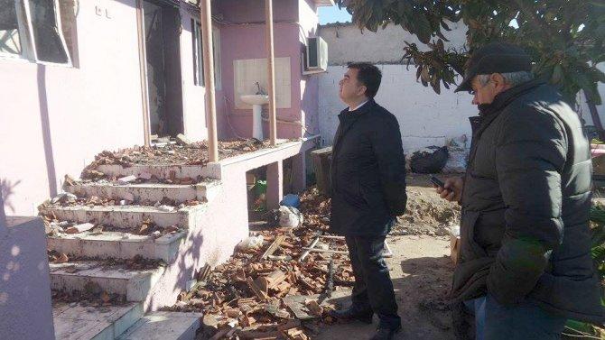 Şen ailesinin yanan evini Köşk Belediyesi yapacak