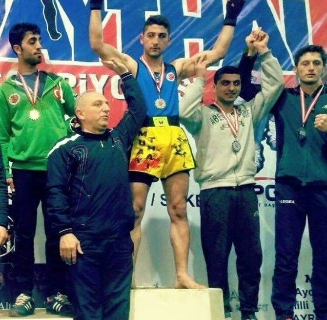 Muaythai Türkiye Şampiyonası'na Samsun Damga Vurdu