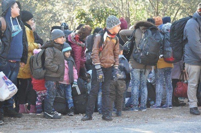 Çanakkale'de 362 Kaçak Yakalandı