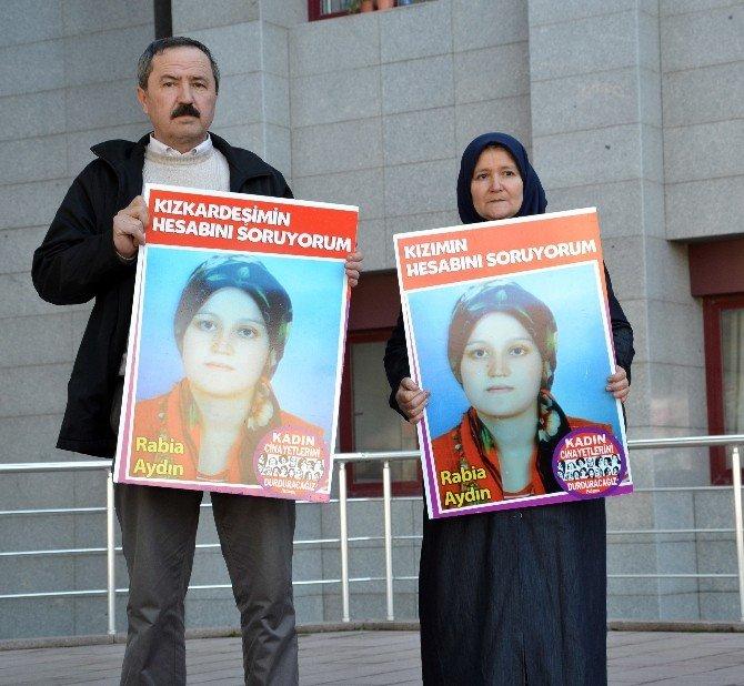 Öldürülen Rabia İçin Adalet İstediler