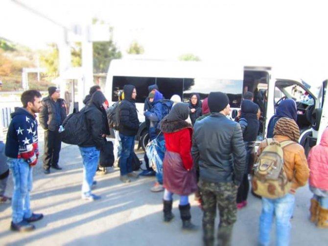 Balıkesir'in beş ilçesinde 175 kaçak göçmen yakalandı