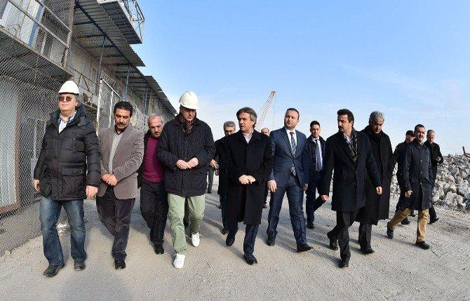 Başkan Demircan, Galataport Projesi Alanını İnceledi