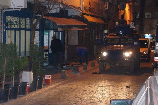 Beyoğlu'nda dernek lokaline ses bombası atıldı