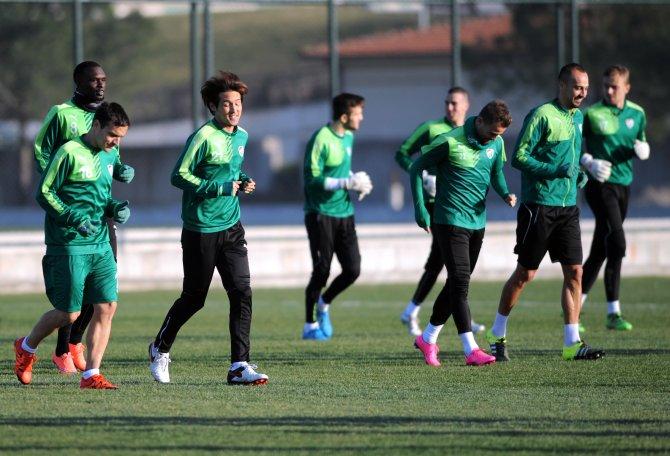 Bursaspor, Gençlerbirliği hazırlıklarına başladı