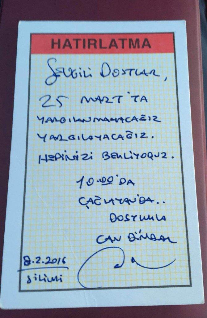 Dündar ve Gül'den çağrı: 25 Mart'ta yargılanmayacağız, yargılayacağız