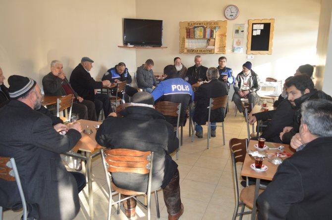 Erzincan Emniyet Müdürlüğü huzur toplantısı düzenledi