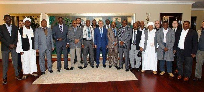 Başkan Köşker, Sudanlı Konuklarını Ağırladı