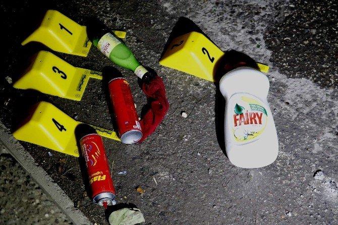 Antalya'da HDP'nin Eyleminde Olaylar Çıktı