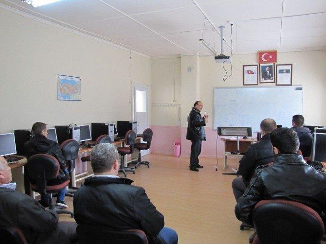 Hisarcık'ta Katı Ve Sıvı Yakıtlı Kalorifer Ateşçisi Kursu Açıldı