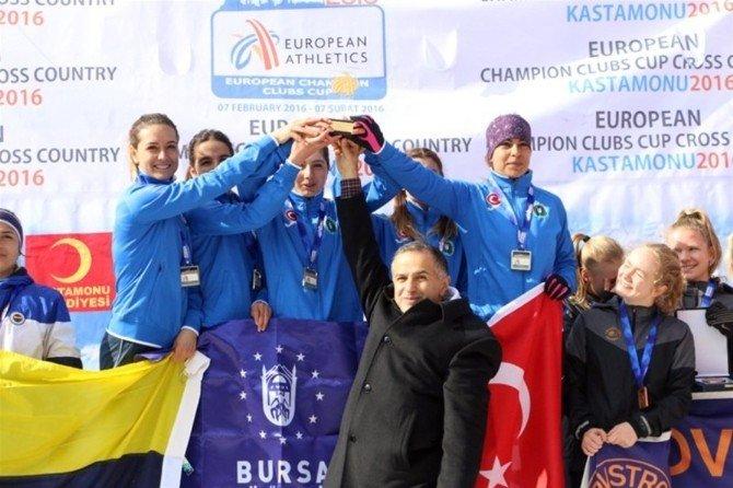 Avrupa'nın Şampiyonları Ağrı'dan
