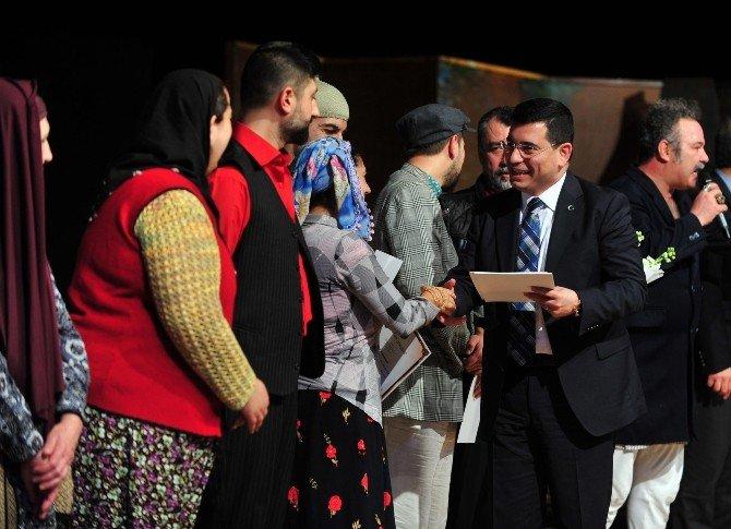 Kepez'de Köşe Kapmaca Oyununun Galası Yapıldı