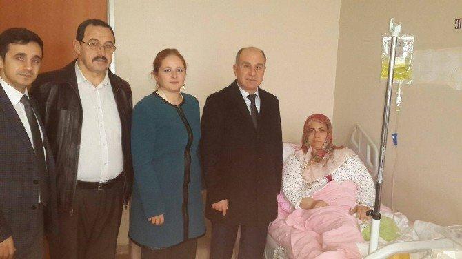 Körfez Belediyesi'nden Şehit Annesi Ziyaret