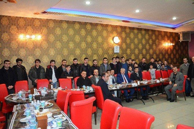 Başkan Baran, Öğrenciler İle Bir Araya Geldi