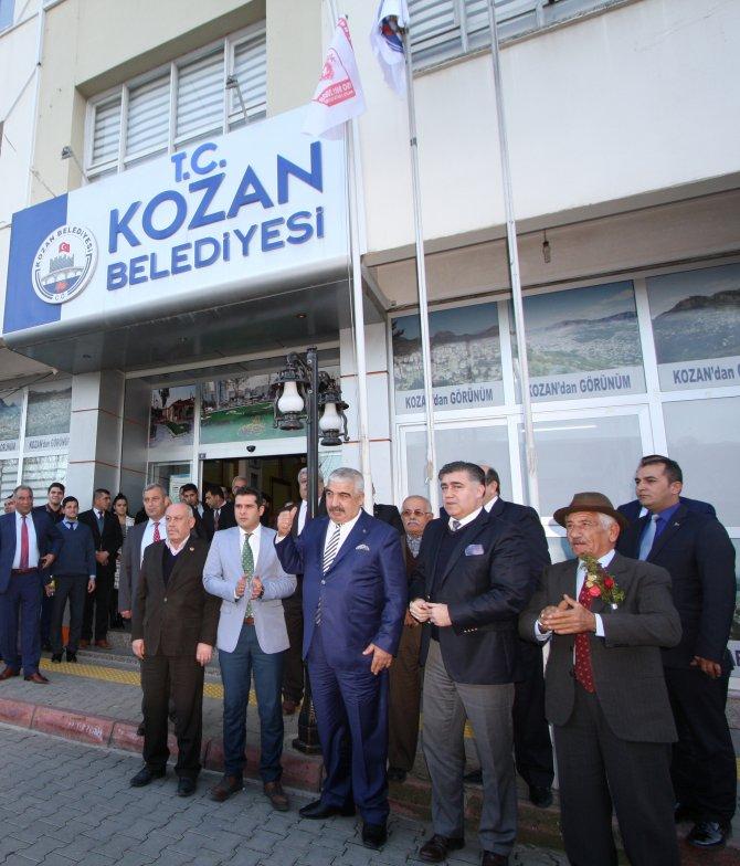 Kozan belediyesi kalite belgesini yeniledi