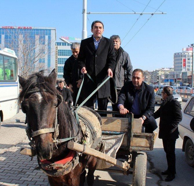 CHP'den AT Arabalı Eylem