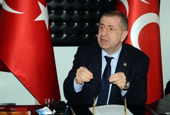 Özdağ'dan Gaziantep'e Gazilik Unvanı Verilişi Mesajı