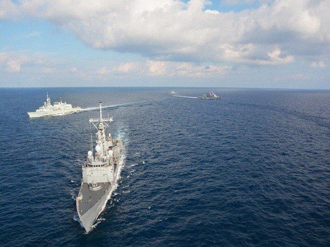Doğu Akdeniz'de NATO Tatbikatı