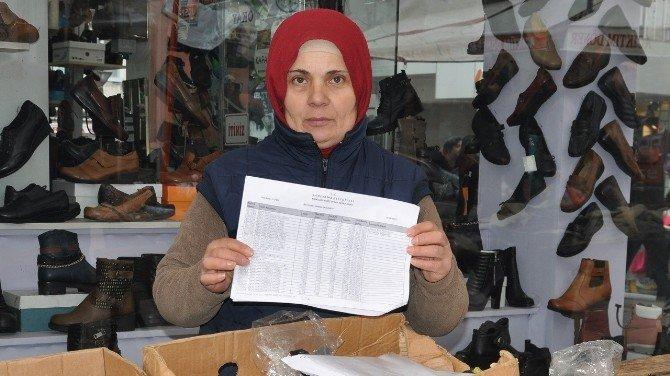 Mağdur Pazarcı Belediyeye Karşı Hakkını Arıyor