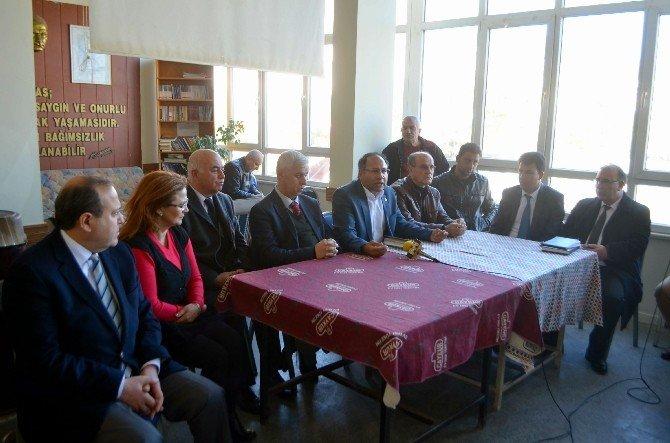 TBMM Katip Üyesi CHP İzmir Milletvekili Özcan Purçu'dan Memleketi Söke'ye Ziyaret