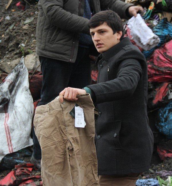 Türkmenler İçin Toplanan Yardımlar Çöpten Çıktı