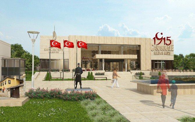 """Sancaktepe'ye """"1915 Çanakkale Minia-müze"""" Geliyor"""