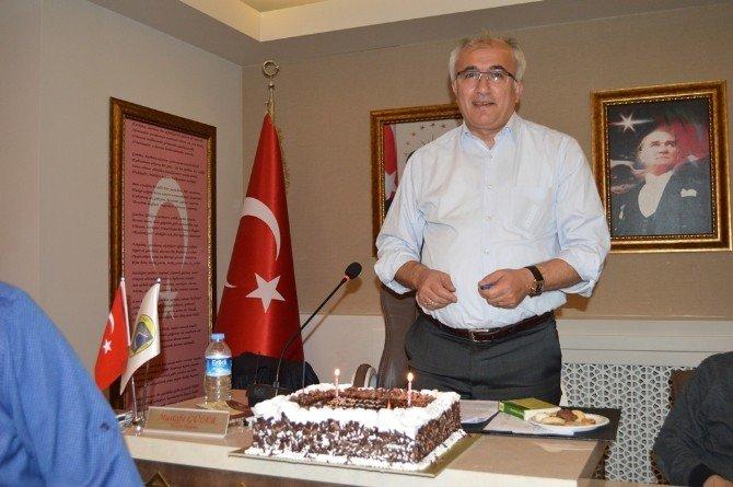 Başkan Güler'e Sürpriz Doğum Günü Kutlaması