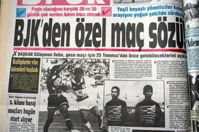 Beşiktaş'ın Torku Konyaspor'a 22 Yıllık Borcu