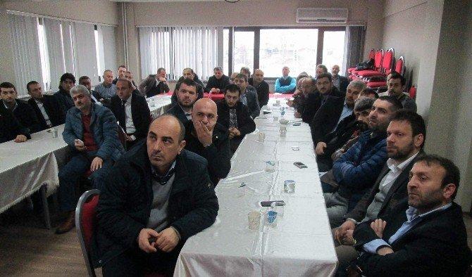 TÜMSİAD Trabzon Şubesi'nin Şubat Ayı Konuğu KOSGEB İl Müdürü Mehmet Turhal Oldu