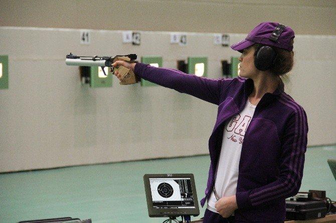 Havalı Silahlar Federasyon Kupası Mersin'de Yapıldı