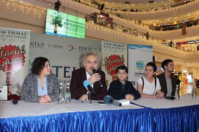 İftarlık Gazoz Filminin Yönetmeni Ve Oyuncuları Tekirdağlılarla Buluştu