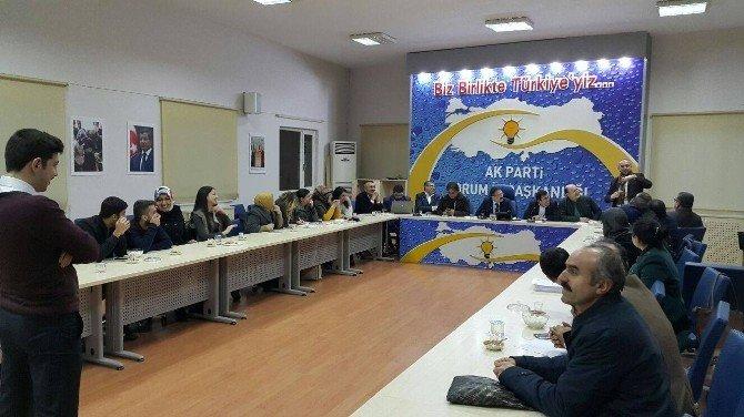 AK Parti Çorum İl Başkanlığı'nda İşaret Dili Kursu Açıldı