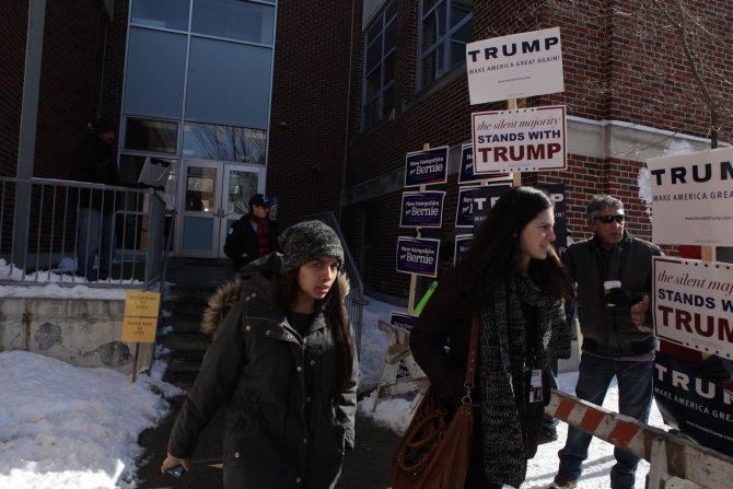 Kritik New Hampshire seçimi için halk sandık başında