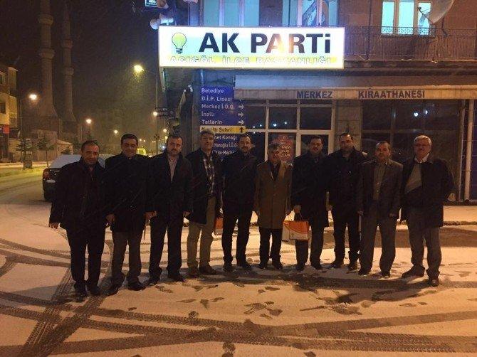 AK Parti İlçe Başkanları Toplantısı Acıgöl'de Yapıldı
