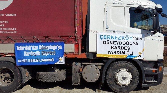 Terörden Zarar Gören Vatandaşlara AK Parti'den Yardım