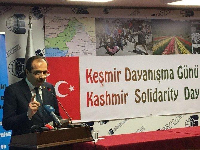 AK Parti Trabzon Milletvekili Balta, Keşmir Dayanışma Günü'nde Konuştu