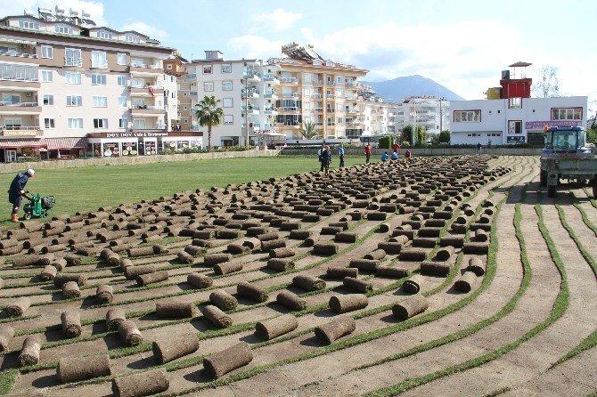 Alanya'nın Kestel Mahallesine Yeni Spor Tesisi