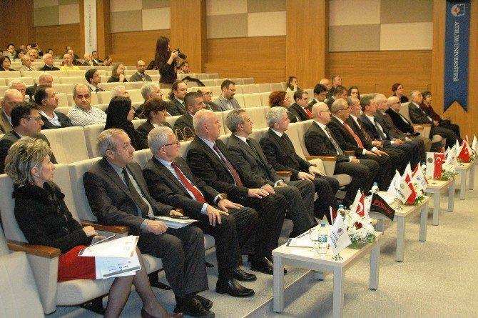 Atılım Üniversitesi 'Sayp' Kapsamında Savunma Sanayi Firmalarıyla Protokol İmzaladı