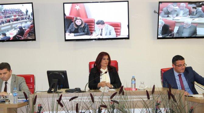 Aydın Büyükşehir Belediye Meclisi toplandı