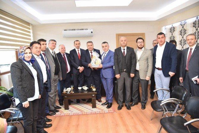 Başkan Çerçi'den Alaşehir Çıkarması
