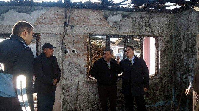 Köşk Belediyesi, Şen Ailesinin Yanan Evini Yenileyecek