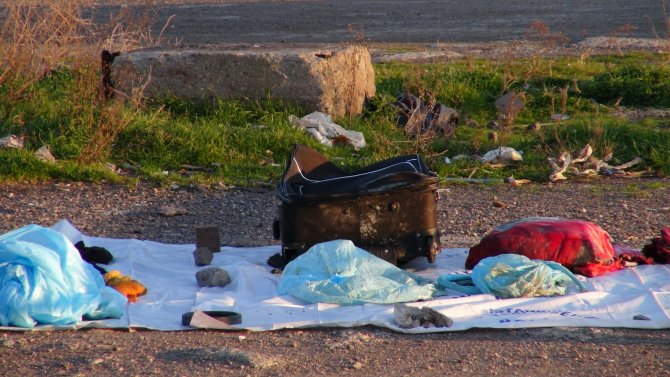 Bavuldan parçalanmış kadın cesedi çıktı