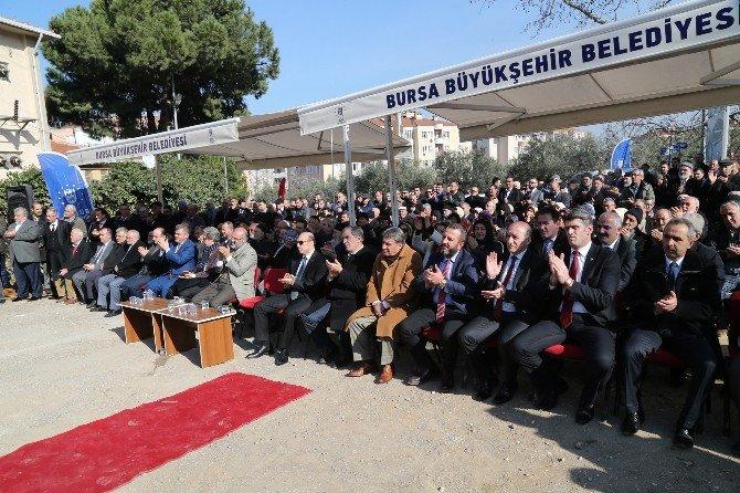 Mudanya Büyükşehir İle Mehmet Akif Ersoy Camii'ne Kavuşuyor