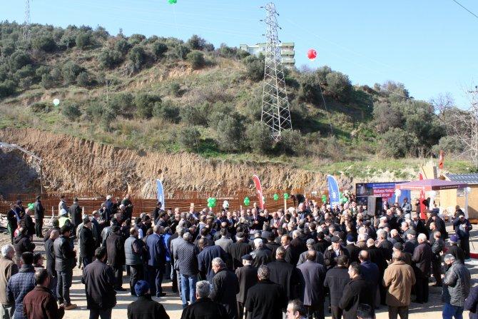Mehmet Akif Ersoy Cami'nin temeli atıldı