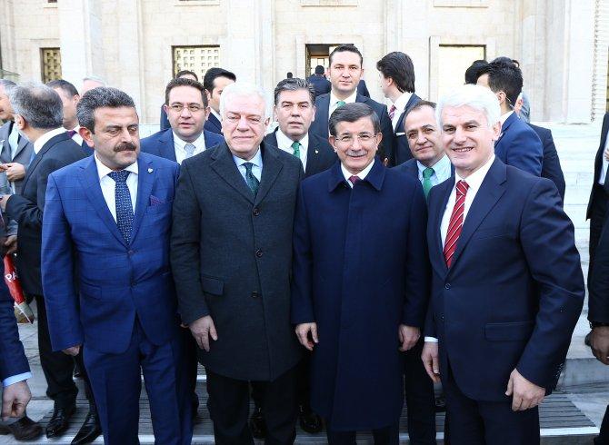 Bursaspor yönetimi, Başbakan Davutoğlu'nu ziyaret etti