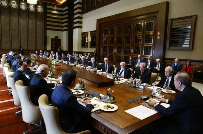 Cumhurbaşkanı Erdoğan, Musevi cemaat liderini kabul etti