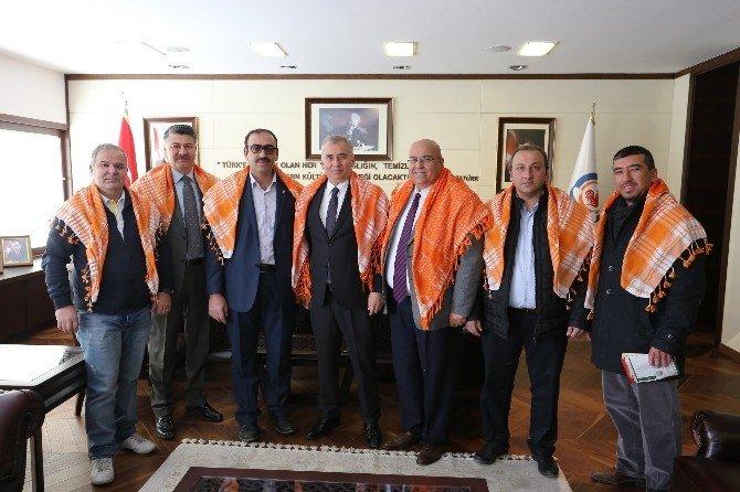 Yörüklerden Başkan Zolan'a Ziyaret