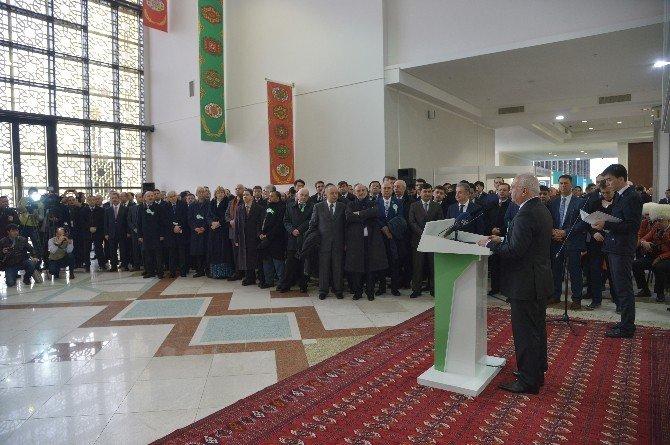 Ekonomi Bakanı Elitaş, Türkmenistan'da Türk İhraç Ürünleri Fuarının Açılışını Gerçekleştirdi