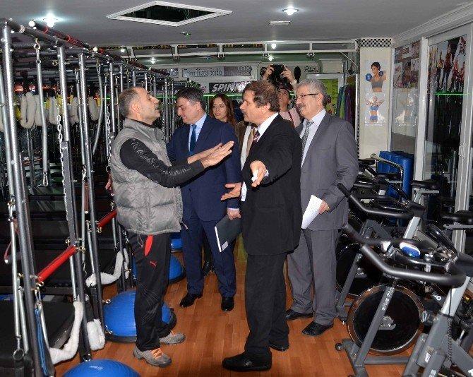 Adana'da Özel Spor Tesisleri Denetlendi