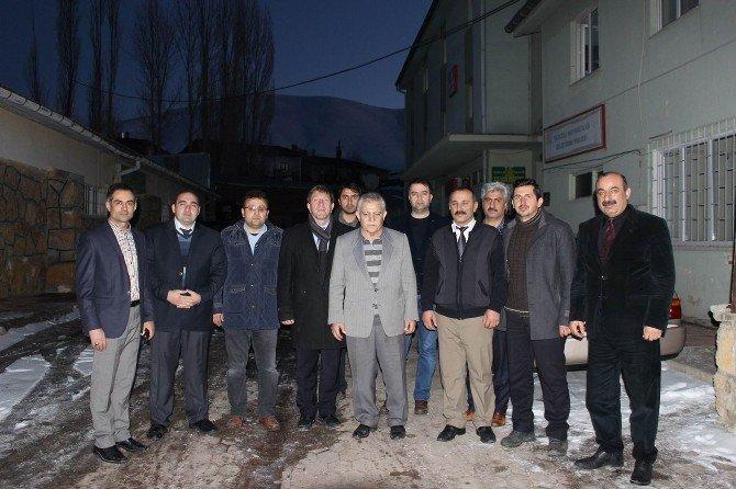 Tarım Bakanı Danışmanı Demirci Yıldızeli İlçesini Ziyaret Etti