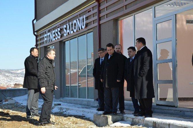 Başkan Bakıcı Yediler Mahalle Konağı'nda İncelemelerde Bulundu